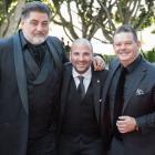 Masterchef stars Gary Mehigan, George Calonbaris and Matt Preston. Photo: Getty Images