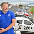 Mosgiel Association Football Club stalwart Pat Howell is concerned about parking pressure if the...