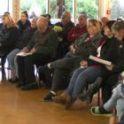 A group of about 40 people headed to a public meeting yesterday in Bluff to hear more about the...