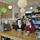 Penelope Baldwin (centre), of Kind Grocer, and chef Emily Jolry say the innovative and flexible...