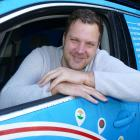 Dutchman Wiebe Wakker has travelled through 34 countries in his electric car, the Blue Bandit....