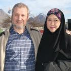 Philippe Saint-Pere and wife Maznah Abu Hassan are trying to raise money for a mosque in...