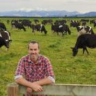 Federated Farmers North Canterbury president Cameron Henderson is enjoying the mild winter, but...