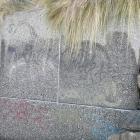 Graffiti removed