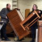 Weir's Furniture owners Neil and Jayne Weir specialise in rimu and oak furniture.