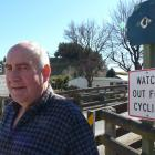 Clutha Gold Trail Charitable Trust chairman Murray Paterson at the cycle trail's Lawrence...