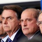 Brazil's Justice Minister Moro, Brazil's President Bolsonaro, Chief of Staff Minister Lorenzoni...
