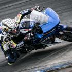 Cormac Buchanan in action at Ruapuna Raceway, near Christchurch, on Sunday. Photo: Aaron Staples...