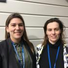 Ministry for Primary Industries' northern South Island regional managers Lydia Pomeroy (left) and...