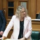 Invercargill Labour list MP Liz Craig questions Educations Minister Chris Hipkins in Parliament...