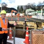Otago Regional Council operations general manager Gavin Palmer at the site of the Dundas St...