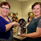 The Good Bitches Baking founders Marie Fitzpatrick (left) and Nicole Murray. Photo: RNZ