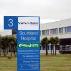 Southland Hospital. Photo: ODT Files