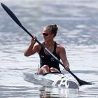 Lisa Carrington is world champion again. Photo: Getty