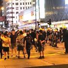 Pro-democracy protesters in Kowloon, Hong Kong, last week. Photo: Errol Chave