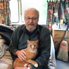 After a rough few years, Southland retiree John - and his cat Puss - now lives in a caravan,...
