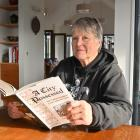 Dunedin author Dr Lynley Hood with her book A City Possessed: The Christchurch Civic Creche Case,...