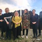 Central Otago District Council executive team members (from left) Leanne Macdonald, Louise van...