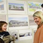 Potential new Te Kura O Take Karara school parent and pupil Tory and Casey (2) Robertson, of...
