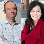 Mayoral candidates Jim O'Malley and Carmen Houlahan. Photos: Linda Robertson/Supplied