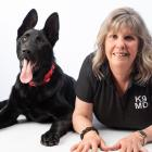 K9 Medical Detection New Zealand founder and director Pauline Blomfield, pictured with detector...