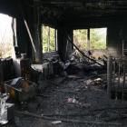 A newly revamped kitchen and lounge were destroyed in a fire at an Arawata Tce, Queenstown,...