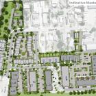 An artist's impression of the new housing development on the former Wakatipu High School site in...