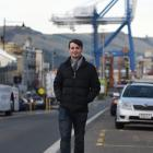 Ryan Jones strolls through Port Chalmers after announcing he would stand down as a West Harbour...