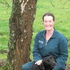Farm manager Bridget Bell, of Avondale, pictured with Brax, was delighted when she placed second...