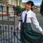 University of Otago dance studies graduate and researcher Ting Choo stands outside Otago Girls'...
