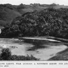 Tomahawk Lagoon, near Dunedin, a favourite resort for anglers. — Otago Witness, 29.8.1919.  ...
