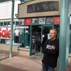 Void clothing store owner Neil Gaudin is concerned proposed traffic restrictions in George St...