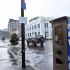 Parking meters in Water St,  Dunedin were charging incorrect rates yesterday as the Dunedin City...