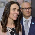 Prime Minister Jacinda Ardern and Minister of Health Dr David Clark at a press conference in...