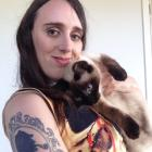 Romance writer Steff Green with her beloved cats. Photos: Supplied