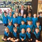 """Waitakiri Primary School came second in The Palms """"My School Rules"""" competition and won $2000."""