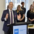 ACC chief executive Scott Pickering at the opening of a leased Princes St building to be used by...