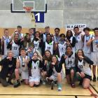 Middleton Grange secured the South Island Secondary Schools' basketball title to go with the...