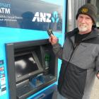 Milton resident Ross Finch was among ATM customers unable to withdraw cash from the town's ANZ...