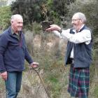 Lenz Reserve management committee chairman Fergus Sutherland (right), and Invercargill Forest ...