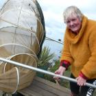Clutha Mouth whitebaiter Christine Melvin, of Balclutha, says low flows, as at present, can...
