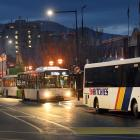 Dunedin's bus Hub. Photo: Stephen Jaquiery