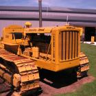 A D6 Caterpillar bulldozer which will be trucked from North Canterbury to Wanaka this weekend....