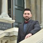 Public health worker Gabor Kerekes was one of 41 people to become New Zealand citizens at a...