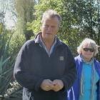 Eiffelton farmer Ian Mackenzie speaks about the endangered mudfish on the family farm to members...