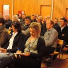 Information from Otago Regional Council executive staff was being heeded by those at an Oamaru...