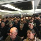 About 350 farmers and rural industry representatives attended a primary industry meeting on the...
