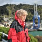 Volunteer Jan Tucker readies herself for the coming cruise ship season. PHOTO: CHRISTINE O'CONNOR