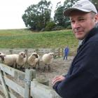 Tapui farmer John Dodd has been made a life member of the North Otago A&P Association. Photo:...