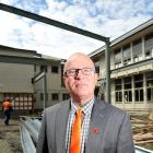 George Street Normal School principal Rod Galloway at the start of the school's modern learning...